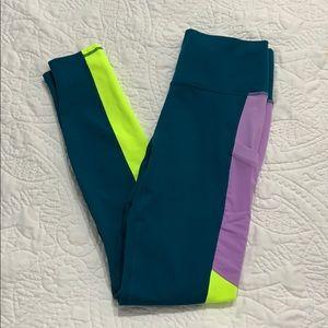 Fabletics Powerhold colorblocked legging